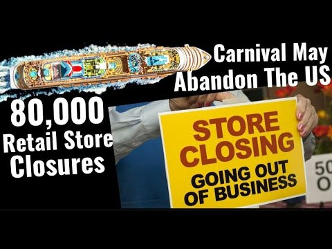 80,000 Store Closures, Carnival May Abandon The US, K!ssinger Say US Must Accept New System
