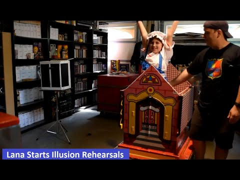 JUL-TV Presents Wes Iseli's Magiclife (Lana Starts Illusion Show Rehearsals) S2E5