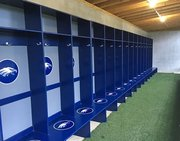 Schafer Locker Set up - Baseballrack