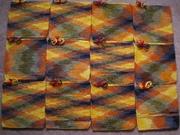 12 I Love This Yarn PJ squares