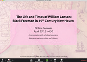 Webinar on William Lanson