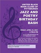 Jazz and Poetry Birthday Bash
