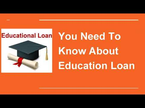 Education Loan Against Property - Term & Condition