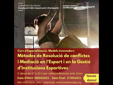 La Resolució de conflictes i la mediació t'obre un ventall més gran de solucions. Marta Menéndez