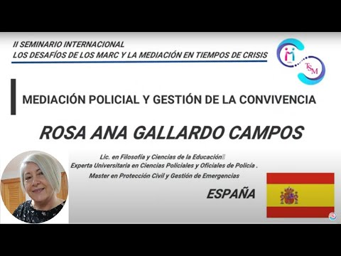 ROSA ANA GALLARDO CAMPOS- ESPAÑA-MEDIACIÓN POLICIAL Y GESTIÓN DE LA CONVIVENCIA
