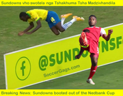 Sundowns booted out of Nedbank Cup