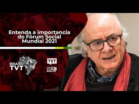 Boaventura: entenda a importancia do Fórum Social Mundial 2021