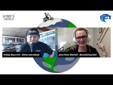Robby's World 008 - Jenn Root Martell, South City Cider Co-Founder