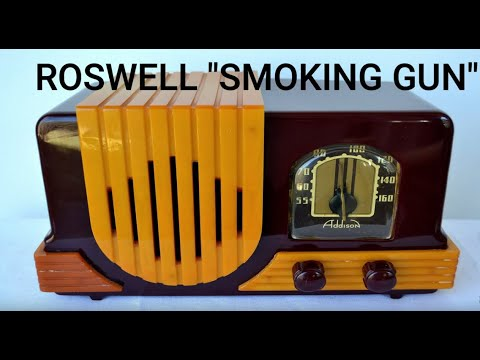 "RARE ABC Radio Broadcast  -  Roswell ""Smoking Gun"" from 1947 - NOT NBC"