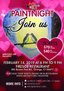 Valentine's Day Paint Night
