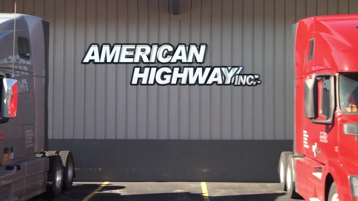 American Highway, Inc. Full Service Trucking & Logistics Company.