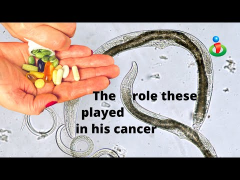 Connection between cancer, supplements and parasites