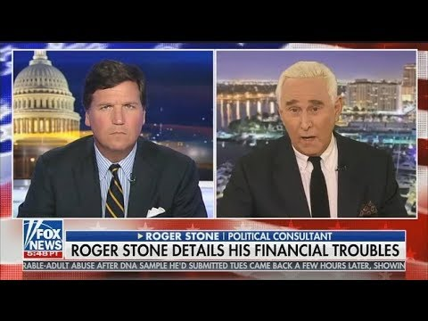"Stone On Tucker Carlson: ""Mueller Trying To Destroy My Life"""