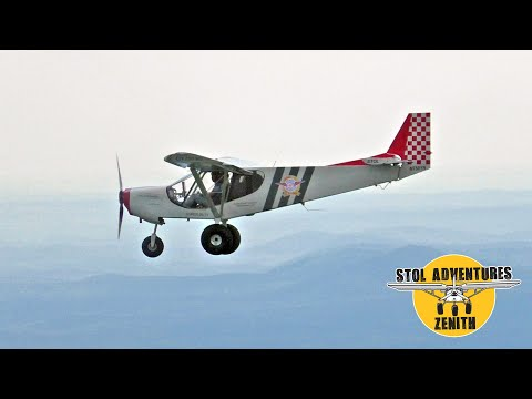 Flying the STOL CH 750 Super Duty cross-country home from Sun 'n Fun