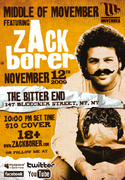"""""""Middle of Movember"""" feat. zAck borer @ The Bitter End"""
