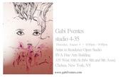 Artist in Residence, School of Visual Arts, Open Studio
