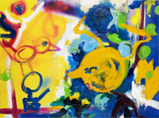 At the Fountain Art Fair, NYC, Helene Mukhtar presents her latest paintings with iArt-4 Collective.