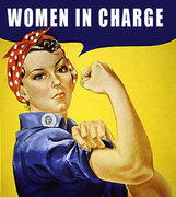 Women in Charge! An open exhibition addressing leadership.