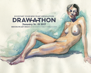 DRAWATHON @ Brooklyn Art Space!
