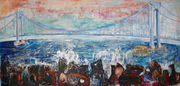 BRIDGES: New Paintings, Works on Paper, and Video by Sam Messer