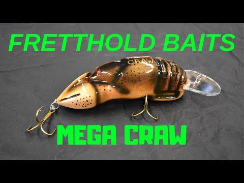 Fretthold Baits MEGA CRAW