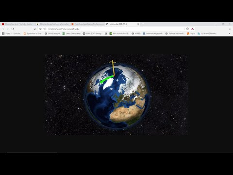 Mysterious Melting Of Earths Crust*Earths Axis Changing*Severe Storms Tornadoes & Massive Hail*