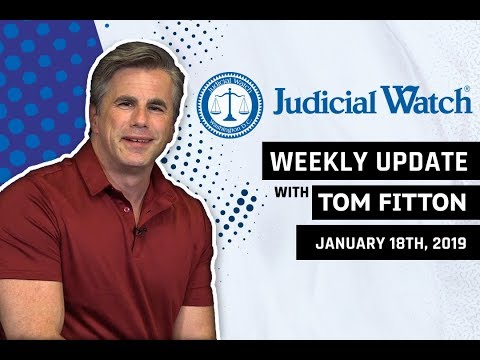 """Tom Fitton: New Anti-Trump RussiaGate Scandal, """"Air Pelosi"""" Grounded, Clinton Email/Benghazi Update!"""