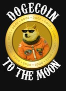 Dogecoin To The Moon T Shirt