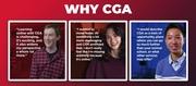 Why CGA?