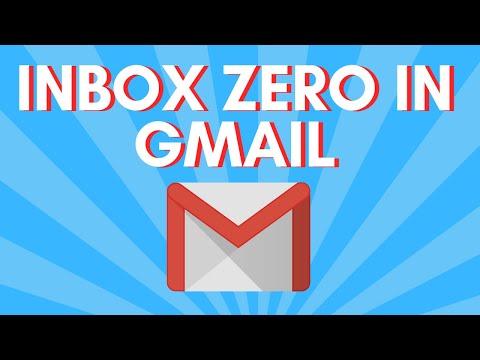 4 Steps To Inbox Zero In Gmail