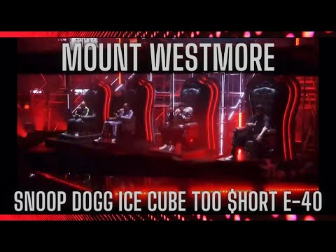 Watch Snoop Dogg, Ice Cube, E-40 and Too $hort's Debut as Supergroup Mt. Westmore