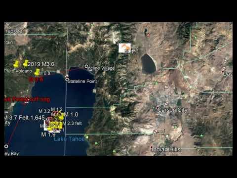 Tsunami, Hydrothermal Explosion Threat Lake Tahoe Earthquake Swarm