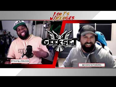 Comicstorian tells his Origin, talks comics, culture & more | Sn 3 Ep.12 | 1 on 1's w/Deuces