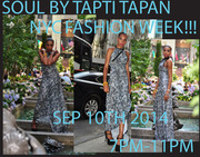 Soul By Tapti Tapan, NYC Fashion Week Show!!