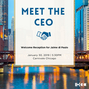 Meet the IHCC CEO: Welcome Reception for Jaime di Paulo