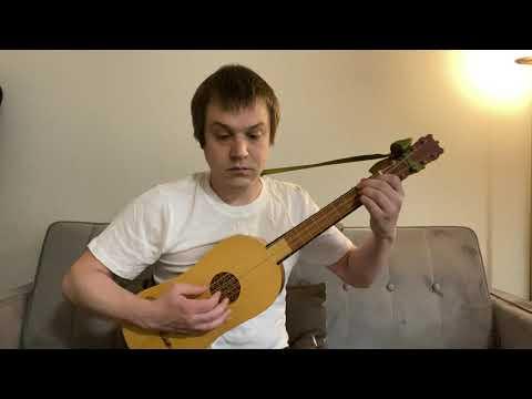 "Adrian LeRoy: ""Almande le Pied de cheval"" for renaissance guitar"
