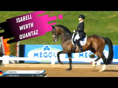 Isabell Werth & Quantaz Grand Prix Dressage Highlights