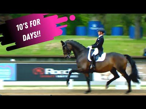 10's For Days On Centerline! Jessica Von Bredow-Werndl & Dalera Nailed It In The Grand Prix Special