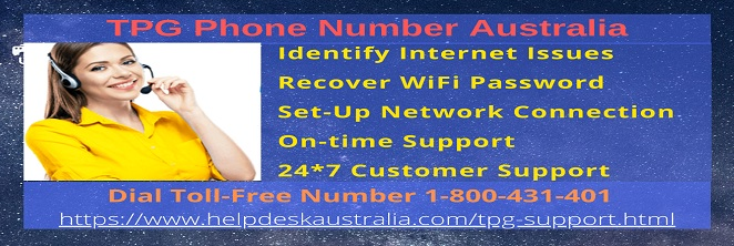 TPG Phone Number Australia 1-800-431-401
