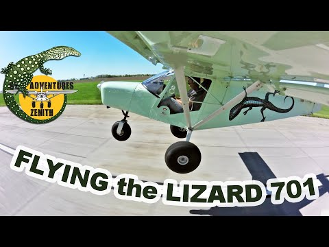 "Flying the Lizard 701 ""sky jeep"" light sport aircraft"