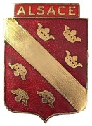 GC1 Alsace 1945 Insigne Recto