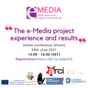 Media Literacy and Digital Citizenship for All: the e-Media project experience and results