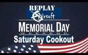 Memorial Day Saturday Cookout & Airsoft Event