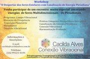 """Workshop """"O Despertar dos Seres Estelares com Canalização de Energia Pleiadiana"""""""