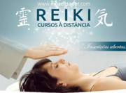 Cursos de Reiki Usui 1, 2 e 3A à distância