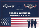 Heroes Weekend at The Promise in Glen Rose TX