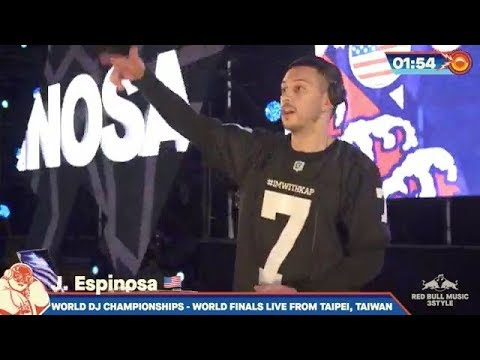 WATCH: J. Espinosa Winning Set at Red Bull Music 3Style World Finals 2019