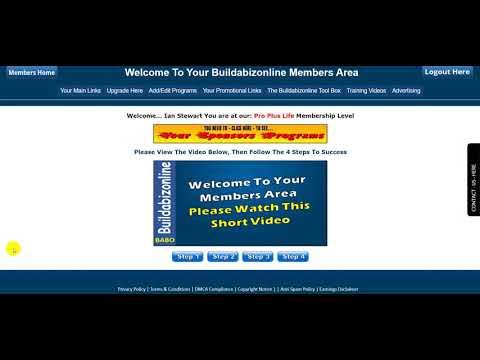 BUZZEZEVIDEO Ian Stewart Build-A-Biz-Online-Introduction