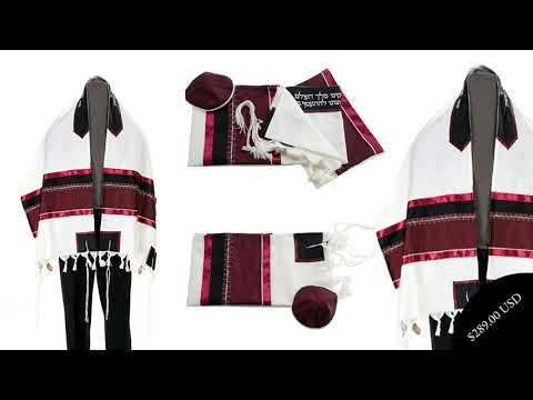 Buy a customized tallit bar mitzvah to gift someone on the important occasion