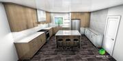 double tone kitchen